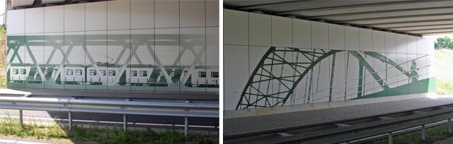 Provincie Limburg antigraffiti viaduct