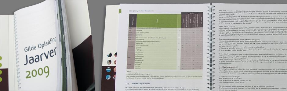 Gilde opleidingen jaarverslag 2009 overzicht