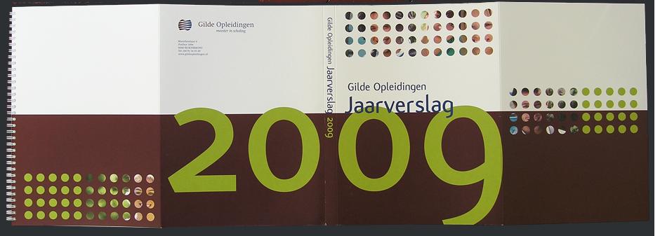 Gilde opleidingen jaarverslag 2009 cover