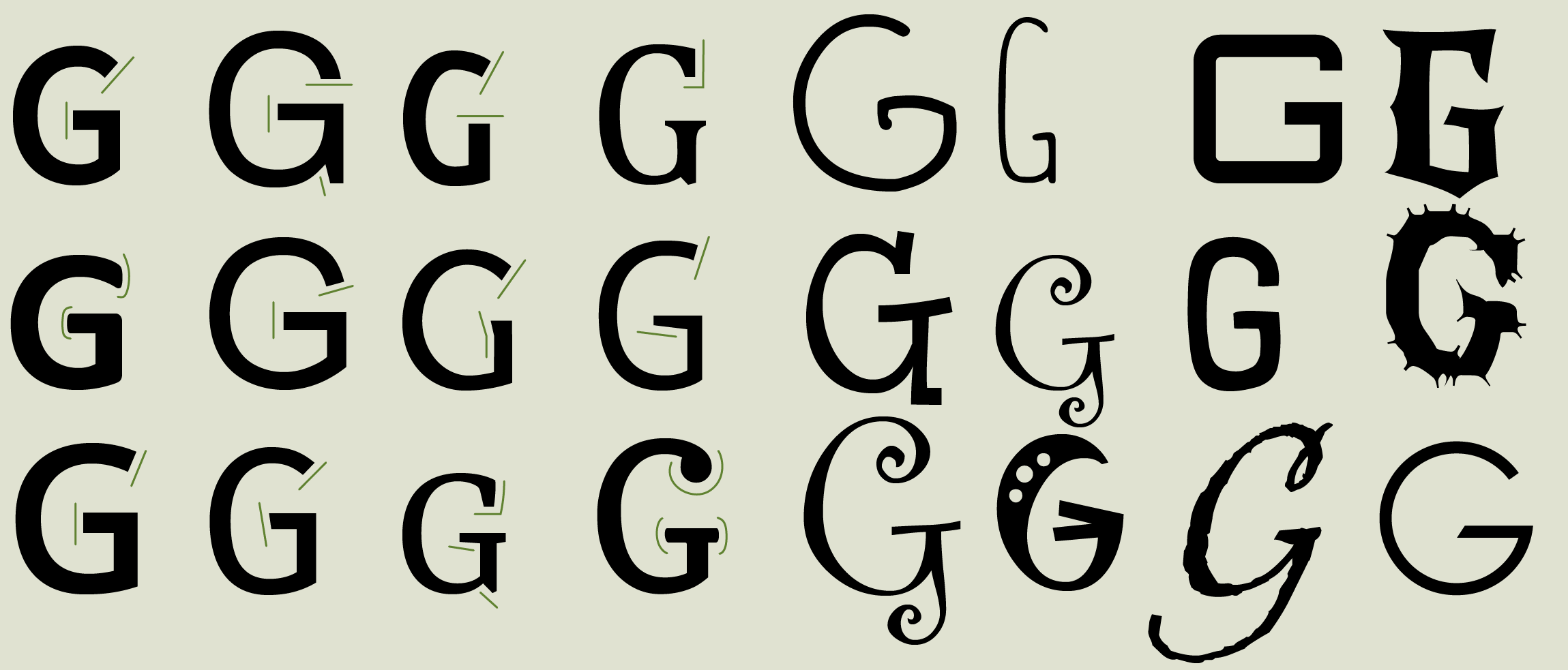 5 tips lettertypes