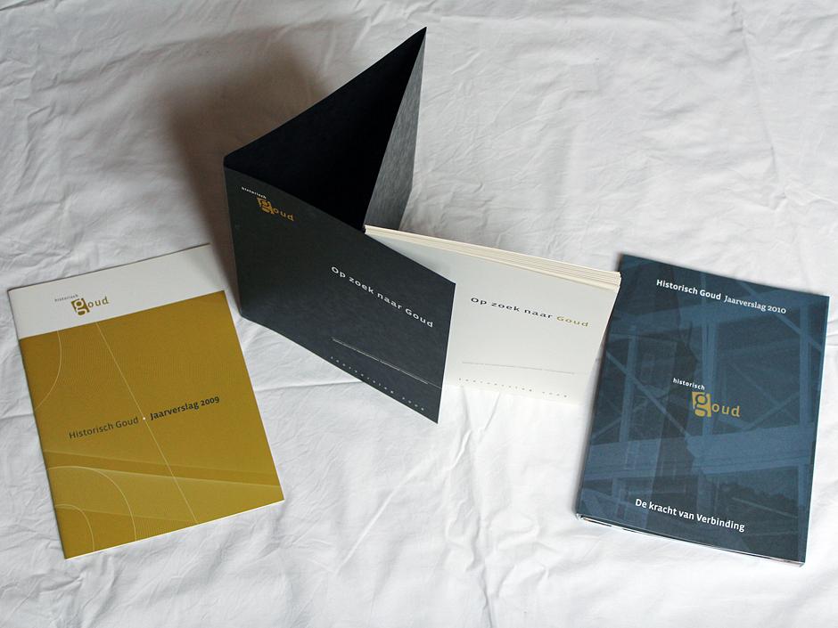 Historisch Goud jaarverslag 2010-cover