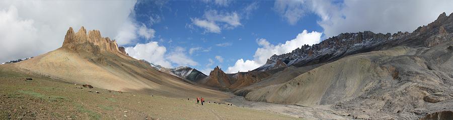 Ladakh panorama trekking Nangma