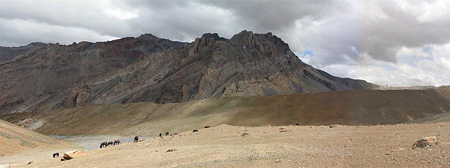 Ladakh panorama Nang-ma