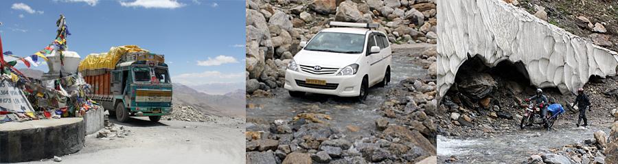Ladakh route door Himachal Pradesh, Spiti en Kinnaur