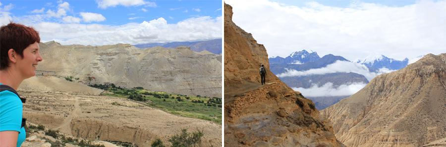 wandelen in Upper Mustang, Nepal